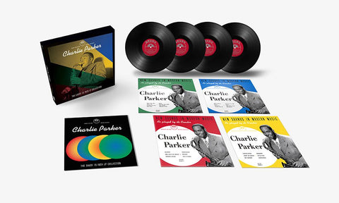 Charlie Parker 'The Savoy 10-Inch LP Collection ' 4x10""