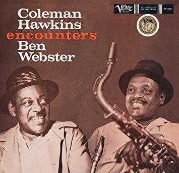 Coleman Hawkins & Ben Webster 'Coleman Hawkins Encounters Ben Webster' LP