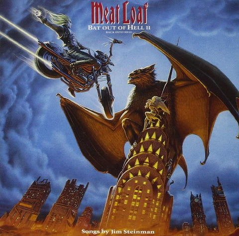 Meat Loaf 'Bat Out Of Hell II: Back Into Hell' 2xLP