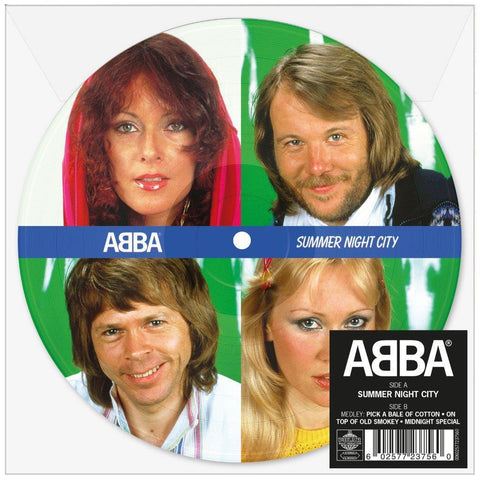 "Abba 'Summer Night City' 7"" Picture Disc"