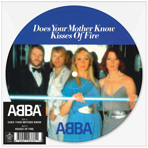 "Abba 'Does Your Mother Know' 7"" Picture Disc"