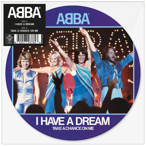 "Abba 'I Have A Dream' 7"" Picture Disc"
