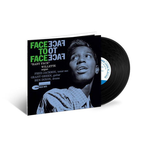 Baby Face Willette 'Face To Face' LP