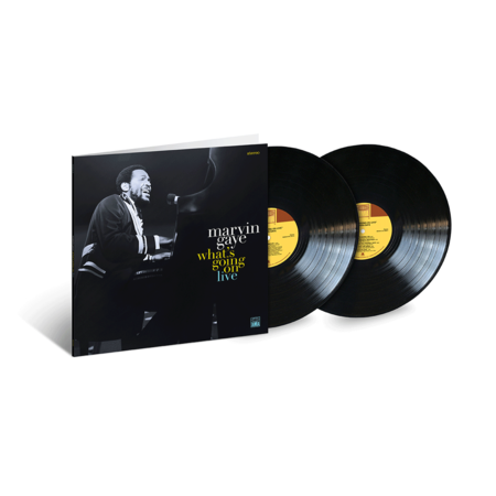 Marvin Gaye 'What's Going On Live' 2xLP