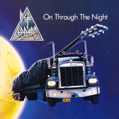Def Leppard 'On Through The Night' LP