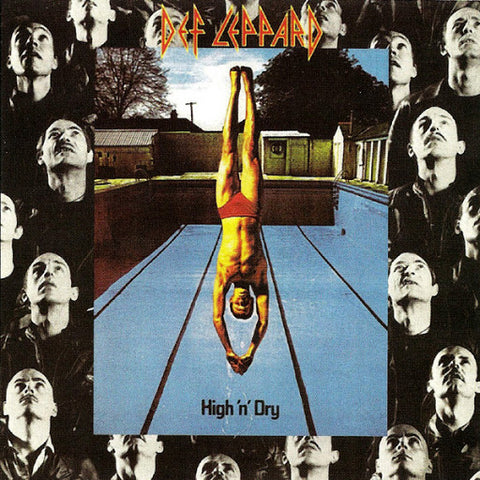 Def Leppard 'High 'N' Dry' LP