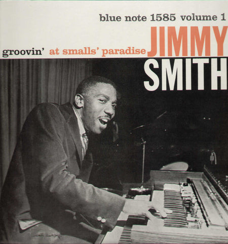 Jimmy Smith 'Groovin' At Smalls' Paradise Vol.1' LP