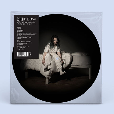 Billie Eilish 'When We All Fall Asleep, Where Do We Go?' Picture Disc LP