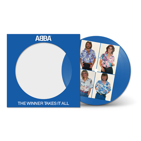 "Abba 'The Winner Takes It All' 7"" Picture Disc"