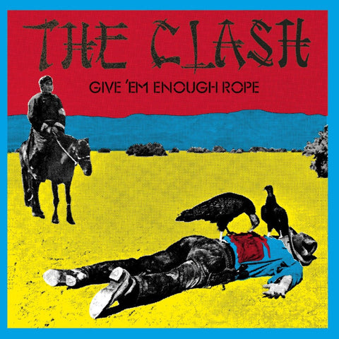 The Clash 'Give 'Em Enough Rope' LP