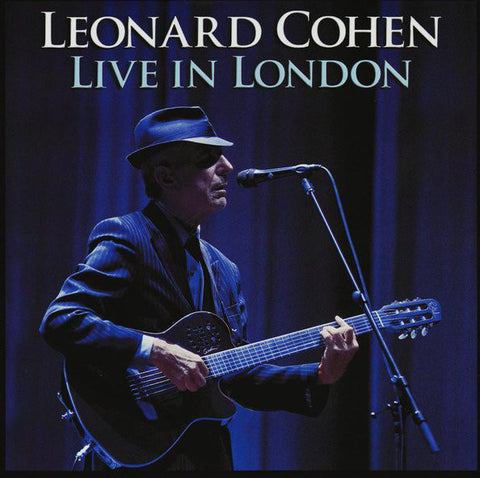 Leonard Cohen 'Live In London' 3xLP