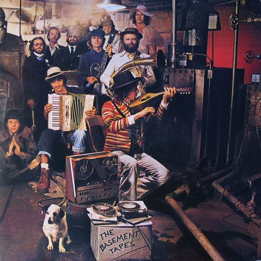 Bob Dylan and The Band 'The Basement Tapes' 2xLP