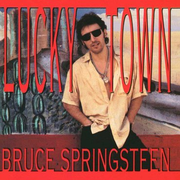 Bruce Springsteen 'Lucky Town' LP