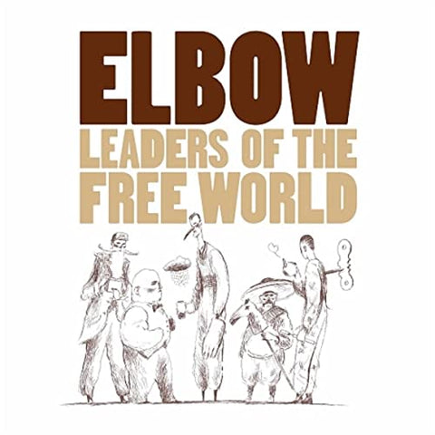 Elbow 'Leaders Of The Free World' LP