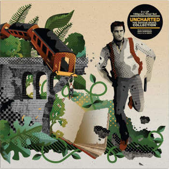 Greg Edmonson 'Uncharted: The Nathan Drake Collection' 3xLP Box Set