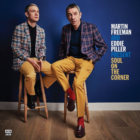 Various 'Martin Freeman & Eddie Piller present Soul On The Corner' 2xLP