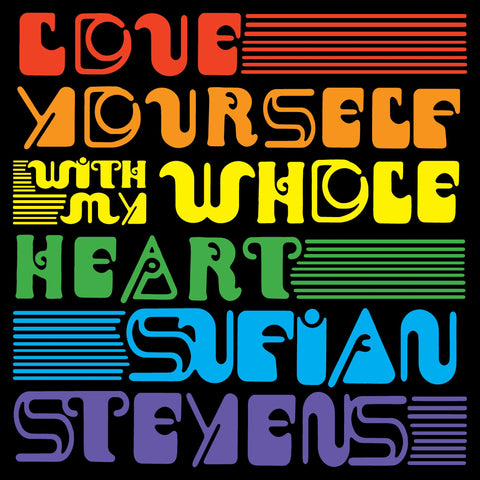 Sufjan Stevens 'Love Yourself / With My Whole Heart' 7""