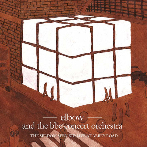 Elbow and the BBC Concert Ochestra 'The Seldom Seen Kid Live At Abbey Road' 2xLP