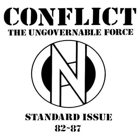 Conflict 'Standard Issue 82-87' LP