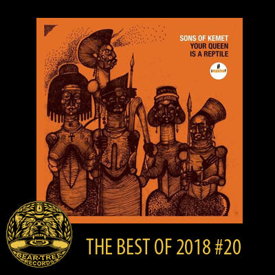 Sons Of Kemet 'Your Queen Is A Reptile' 2xLP