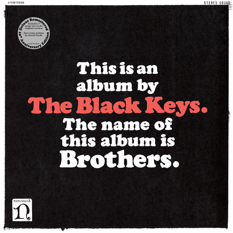 The Black Keys 'Brothers (Deluxe Anniversary Edition)'