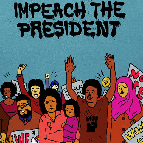 The Sure Fire Soul Ensemble Featuring Kelly Finnigan 'Impeach the President' 7""