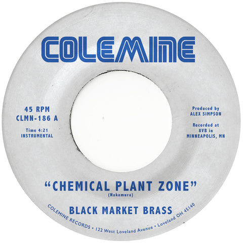 Black Market Brass 'Chemical Plant Zone' 7""