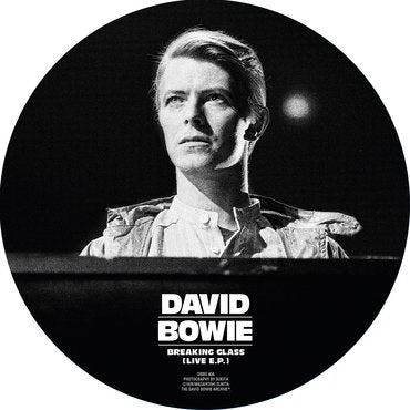 "David Bowie 'Breaking Glass E.P.' 7"" Picture Disc"