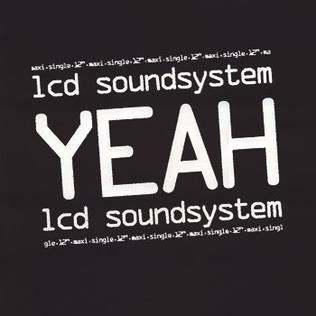 LCD Soundsystem 'Yeah' 12""