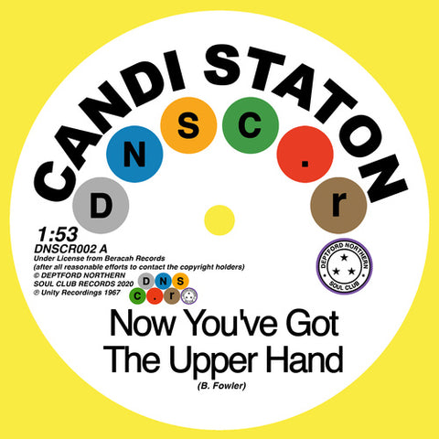 Candi Staton / Chappells 'Now You've Got The Upper Hand' / 'You're Acting Kind Of Strange' 7""