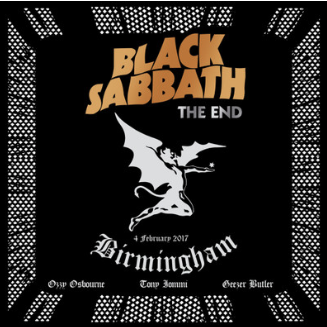 Black Sabbath 'The End' 3xLP
