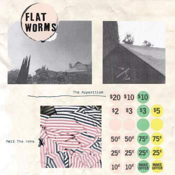 Flat Worms 'The Apparition / Melt The Arms' 7""