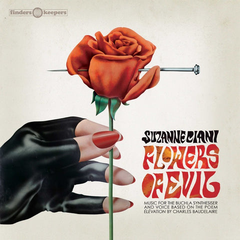 Suzanne Ciani 'Flowers Of Evil' LP