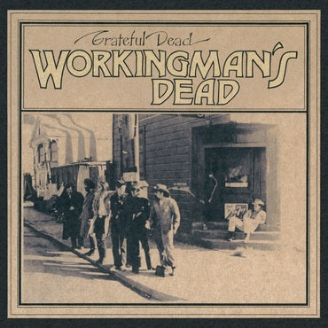 The Grateful Dead 'Workingman's Dead' LP Picture Disc