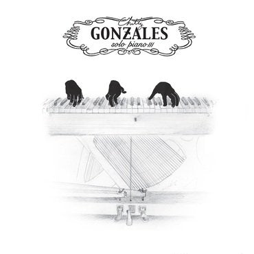 Chilly Gonzales 'Solo Piano III' 2xLP
