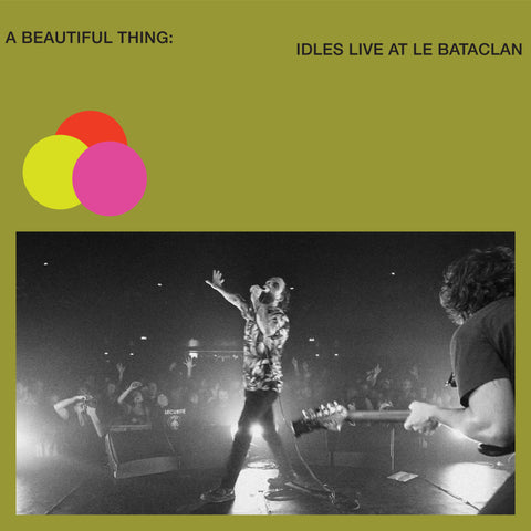 Idles 'A Beautiful Thing: IDLES Live at Le Bataclan' 2xLP