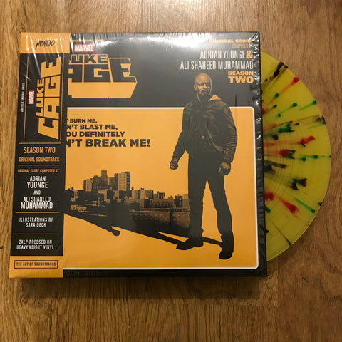 Adrian Younge and Ali Shaheed Muhammad 'Marvel's Luke Cage - Season Two (Original Soundtrack)' 2xLP (Splatter) (*USED*)