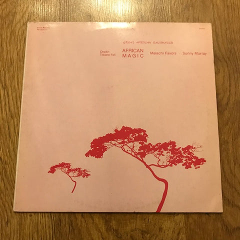 Cheikh Tidiane Fall, Malachi Favors, Sunny Murray 'African Magic' LP (*USED*)