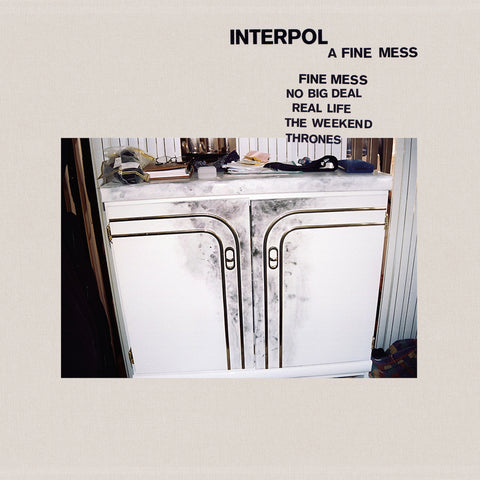 Interpol 'A Fine Mess' 12""