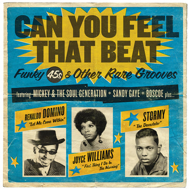 Various 'Can You Feel The Beat - Funk 45s and Other Rare Grooves' 2xLP