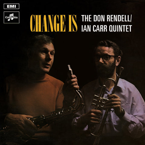 Don Rendell Ian Carr Quintet 'Change Is' LP