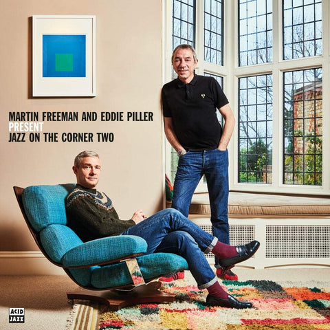Various 'Martin Freeman and Eddie Piller present Jazz On The Corner Two' 2xLP