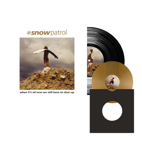 Snow Patrol 'When It's All Over We Still Have To Clear Up' LP + 7""