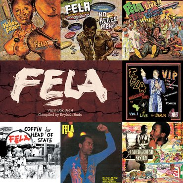 Fela Kuti 'Box Set #4 Curated By Erykah Badu' Box set