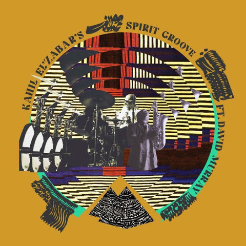Kahil El'Zabar and David Murray 'Kahil El'Zabar's Spirit Groove ft. David Murray' 2xLP