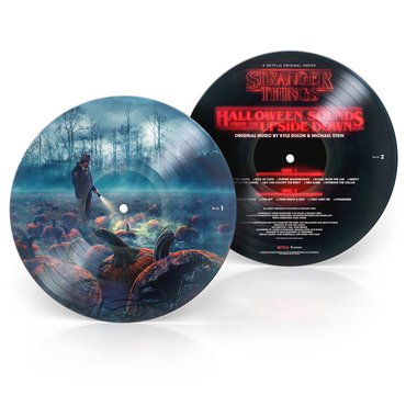 Kyle Dixon and Michael Stein 'Stranger Things: Halloween Sounds From the Upside Down' Picture Disc LP