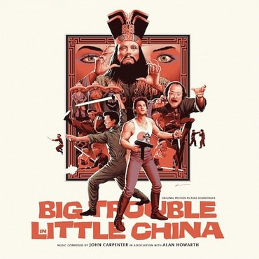 John Carpenter 'Big Trouble In Little China' 2xLP