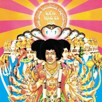 The Jimi Hendrix Experience 'Axis: Bold As Love' (Mono) LP