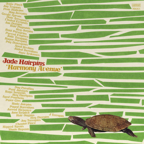 Jade Hairpins 'Harmony Avenue' LP
