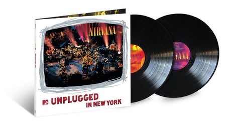 Nirvana 'MTV Unplugged In New York (25th Anniversary)' 2xLP